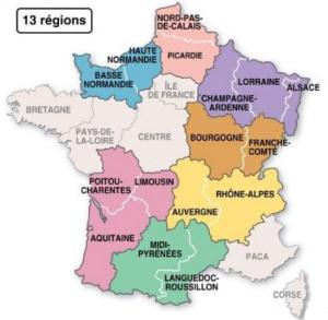 france nouvelles regions